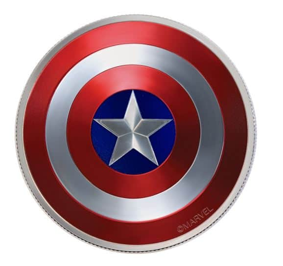 What Was Captain America S Shield Made Out Of Swish And Slash