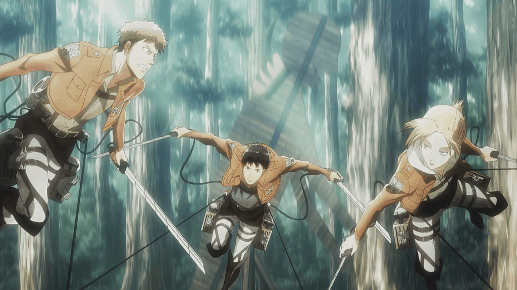 3D Maneuver Gear From Attack on Titan - Swish And Slash